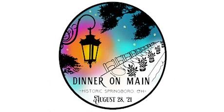 ARTFest Dinner on Main tickets