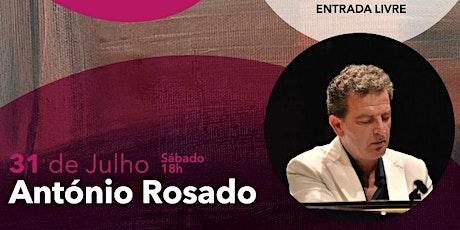 Recital de António Rosado no Auditório Municipal Ruy de Carvalho bilhetes