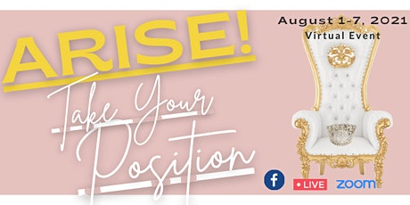 ARISE! Take Your Position to Influence & Impact Week tickets