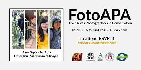 FotoAPA - Four Texas Photographers in Conversation tickets