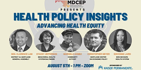 Health Policy Insights: Advancing Health Equity tickets