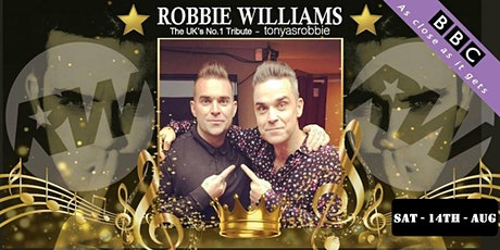 Robbie Williams - UK's No.1 Lookalike  full band tribute show tickets