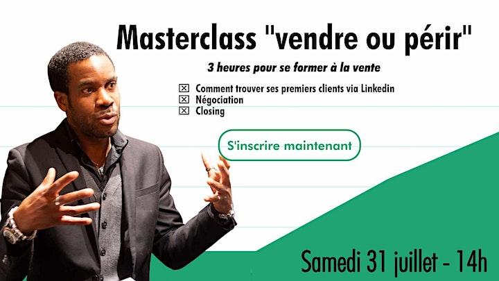 """Image pour Masterclass """"vendre ou périr"""""""