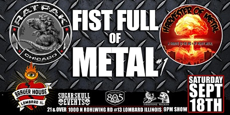 Fist Full of Metal #1 at BrauerHouse Lombard tickets