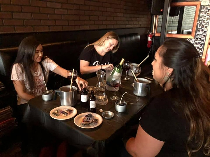 Wicks n' Wine | Candle Making & Wine Tasting Experience image