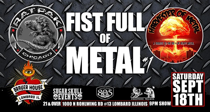 Fist Full of Metal #1 at BrauerHouse Lombard image