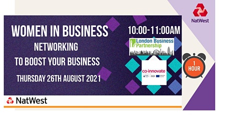 Women in Business Networking for London and surrounding areas tickets