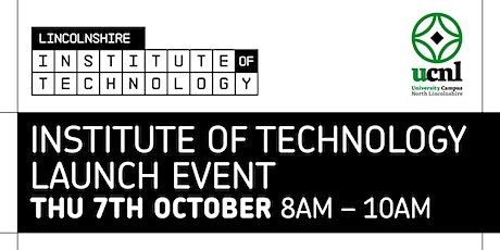 Institute of Technology launch event tickets