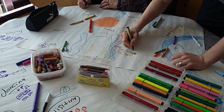 Mind and draw online afternoon creative session 20 tickets
