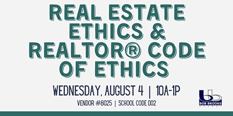 Real Estate Ethics & Realtor Code of Ethics tickets