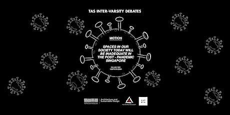 TAS Inter-Varsity Debate ingressos