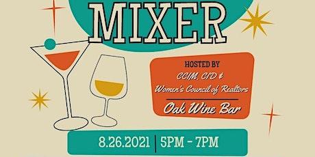 Collaboration Mixer: CCIM, CID & WCR Network tickets