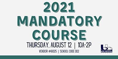 2021 LREC Mandatory Course | 4 hr. Course tickets