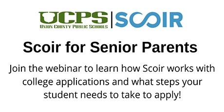 UCPS College Readiness Parent Series: Scoir for Seniors tickets