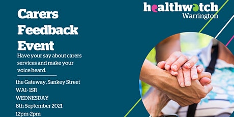 Carers Feedback Event tickets