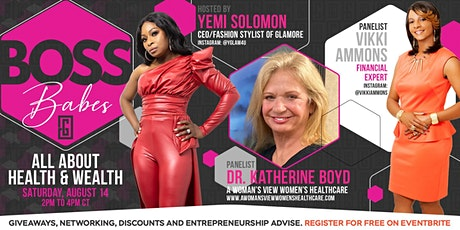 Boss Babes-All About Health and Wealth tickets