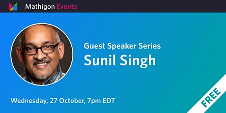 Sunil Singh - Guest Speaker Series biljetter