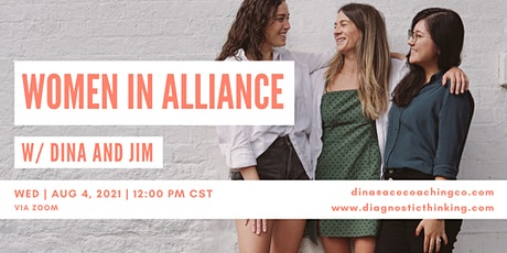 Women In Alliance - Jim and Dina tickets