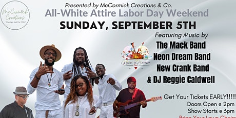 All-White Party on the GREEN | 9.5.21Music FEST tickets