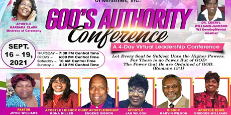 God's Authority Leadership Conference tickets