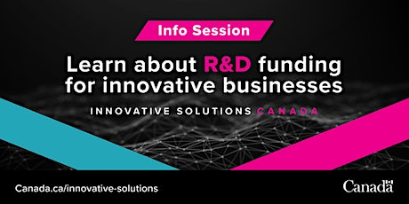 Learn @ Lunch: Innovative Solutions Canada Information Session tickets