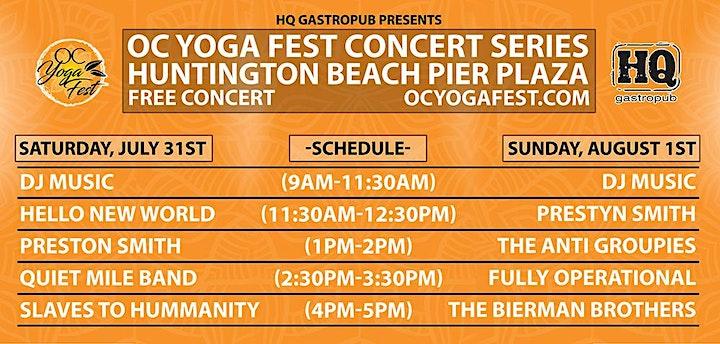 OC YOGA FESTIVAL | SUMMER EDITION image