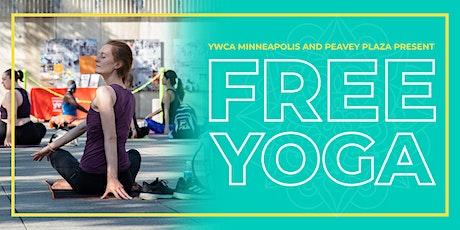 Free Yoga at Peavey Plaza tickets