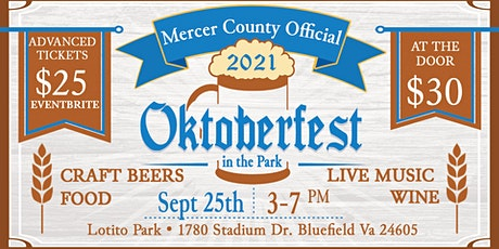 Oktoberfest in the Park 2021 tickets