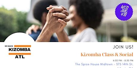 Kizomba Class & Social tickets