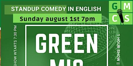 Green Mic Comedy Show billets