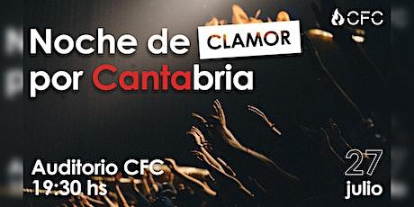 Noche de Clamor por Cantabria entradas