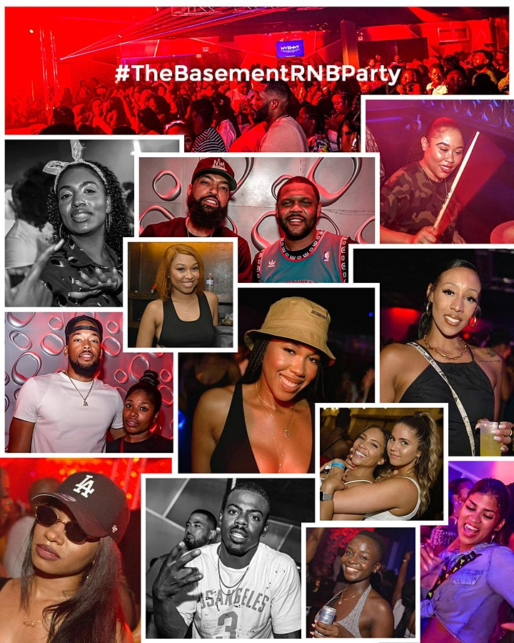 MARIO at The Basement RNB Party | A 90's/2000's Dance Party image