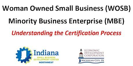 Women/Minority Owned Business Certification tickets