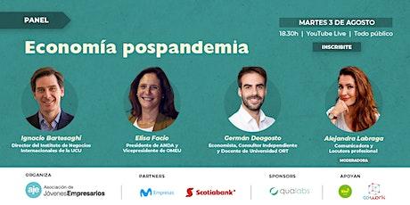 Panel: economía pospandemia boletos