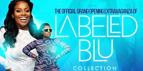 Labeled Blu Collection's Grand Opening tickets