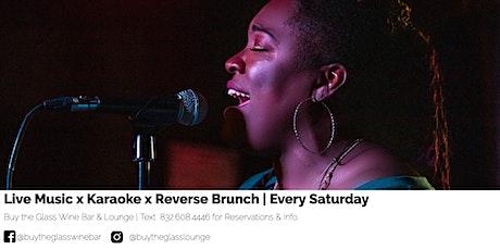 90's  R & B Karaoke x Reverse Brunch tickets