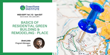 Basics of Residential Green Building and Remodeling - Session 6 tickets