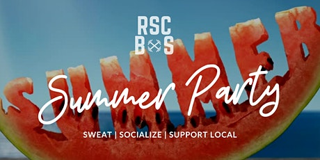 RSC SUMMER PARTY tickets