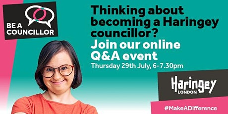 Haringey's 'Be a Councillor' online Q&A event tickets