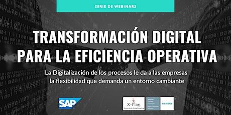 Transformación digital para la eficiencia operativa. EPISODIO 3 entradas