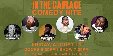 In The Garage Comedy tickets