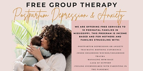 Free Postpartum Depression and Anxiety Group tickets