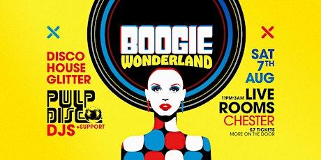 Boogie Wonderland tickets