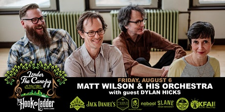 Matt Wilson and His Orchestra with guest Dylan Hicks tickets