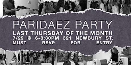 Paridaez Party tickets