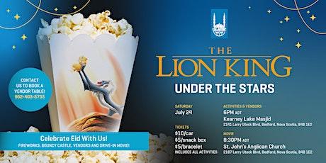 Lion King Under the Stars: Halifax tickets