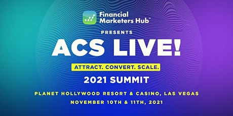 ACS Live! 2021 tickets
