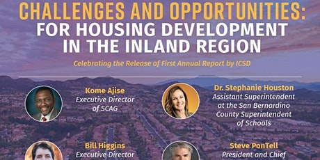 Challenges and Opportunities for Housing Development in the Inland Region tickets