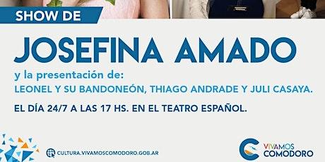 Show de Josefina Amado entradas