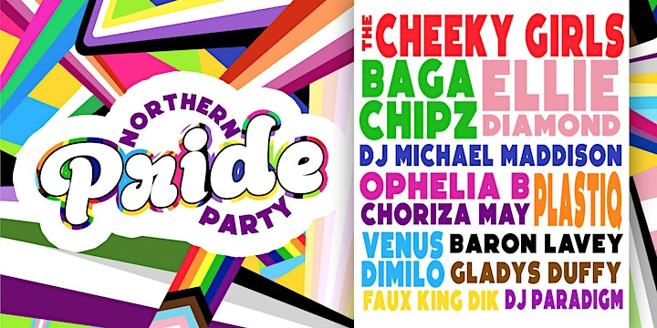 KLUB KIDS NEWCASTLE - NORTHERN PRIDE PARTY (ages 14+) image